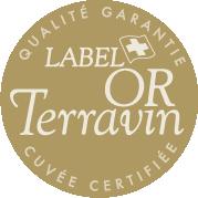 Médaille d'or Terravin 2014