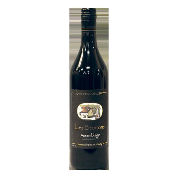 Cave de la Crausaz Vin rouge Les Bourrons