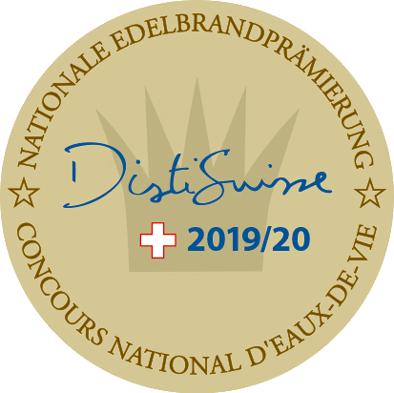 Goldetikette DistiSuisse 2019/20